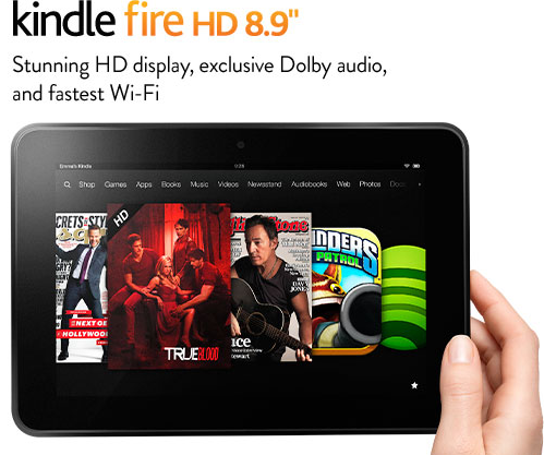 Kindle Fire HD is available in 3 versions,