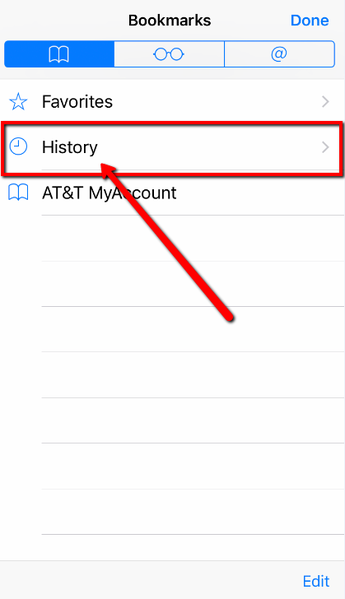how to delete your internet history on ipad