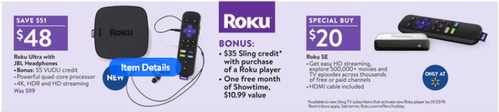 Walmart Black Friday Roku Deals 2018